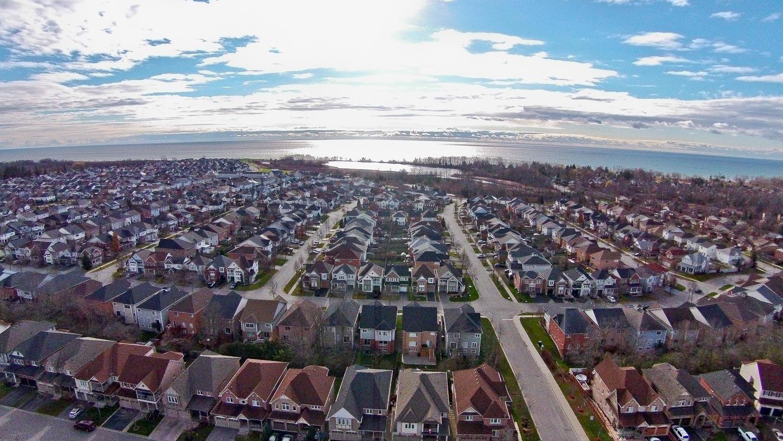 Aerial of Subdivision