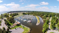 Newcastle Marina Drone Aerial Photography